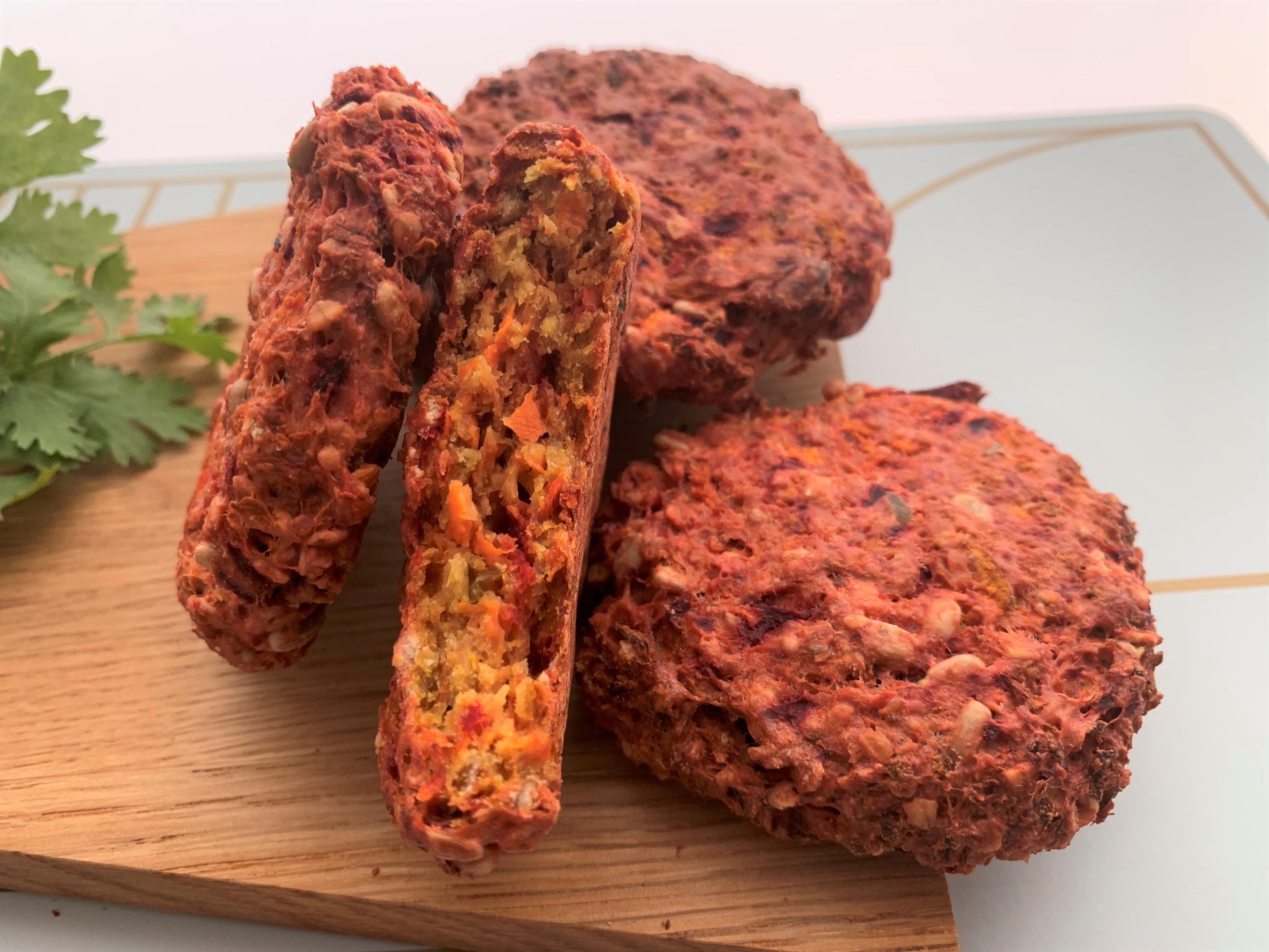 Cookies à la pulpe de légumes. Transformer pour moins gaspiller !
