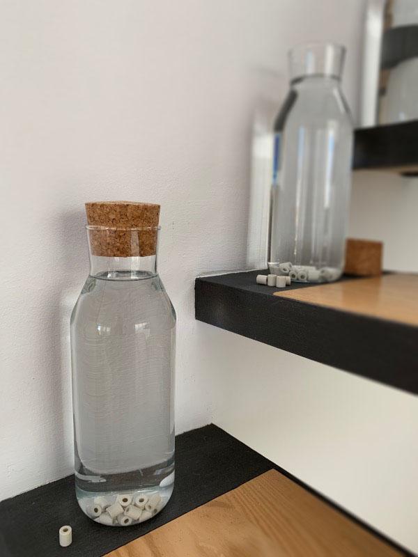 Perles de céramique - Appréciez l'eau du robinet. Économique et écologique.